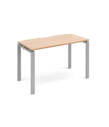 Adapt II Single Desks Fixed Top
