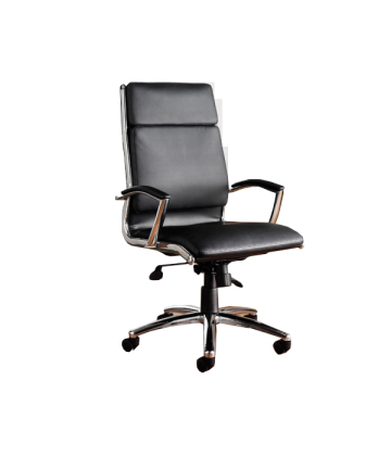 Florence Leather Faced Executive High Back Chair