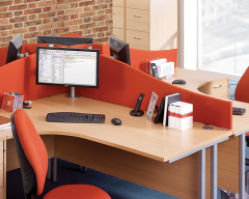 Desk Dividers | Screens | Partitions | Easy Office Furniture