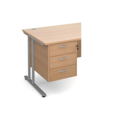 Beech 3 Drawer